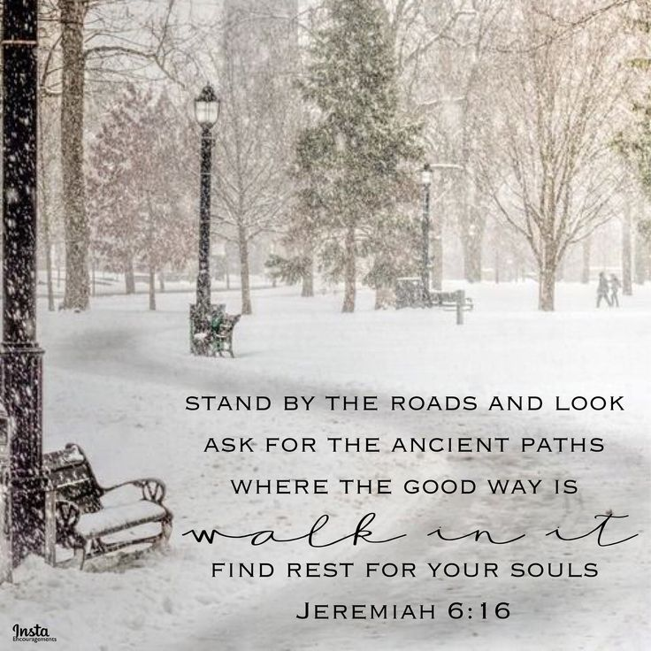 "Thus says the LORD, ""Stand by the roads and look, ask for the ancient paths, where the good way is; walk in it; find rest for your souls."" Jeremiah 6:16  #InstaEncouragements #instagood #wisdomwords #photooftheday #instadaily #christianity #bible #gospel #grace #mercy #faith #hope #love #bethelight #testify #redeemed #ThankfulThursday #ThursdayThoughts"