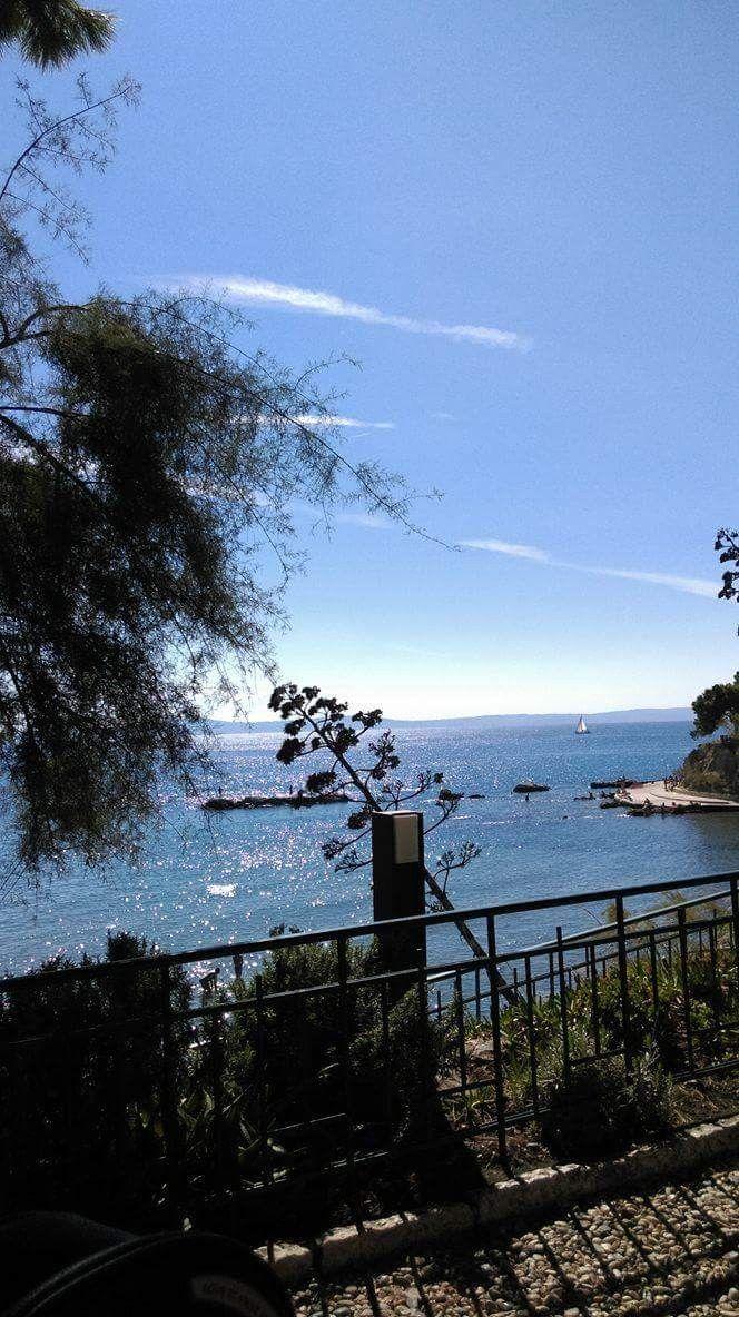 Blue sea from Croatia # split