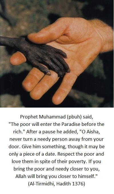 Give the poor.