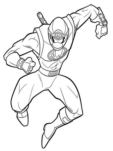 power rangers coloring pages online - Power Rangers Coloring Book