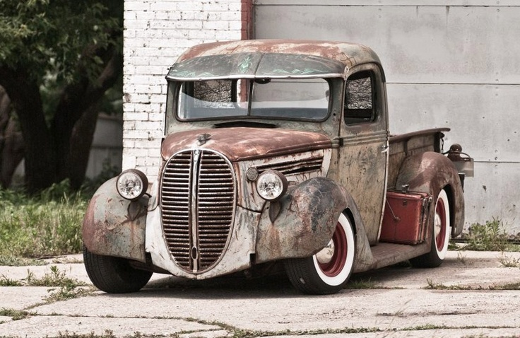 very cool ford truck | Rust Bucket | Pinterest