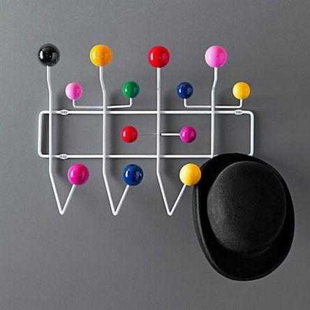 Cabideiro Charles Eames Hang it All Colorido - Versátil, decorativo e muito útil.