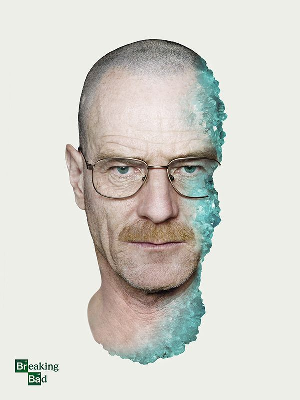 Breaking Bad Poster Series by Shelby White, via Behance