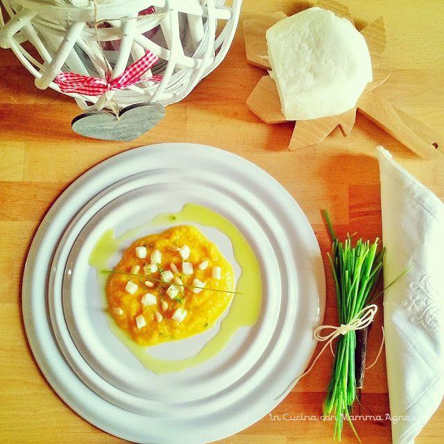 In Cucina con Mamma Agnese: Crema di Zucca, Scamorza e Pinoli tostati in Olio ...