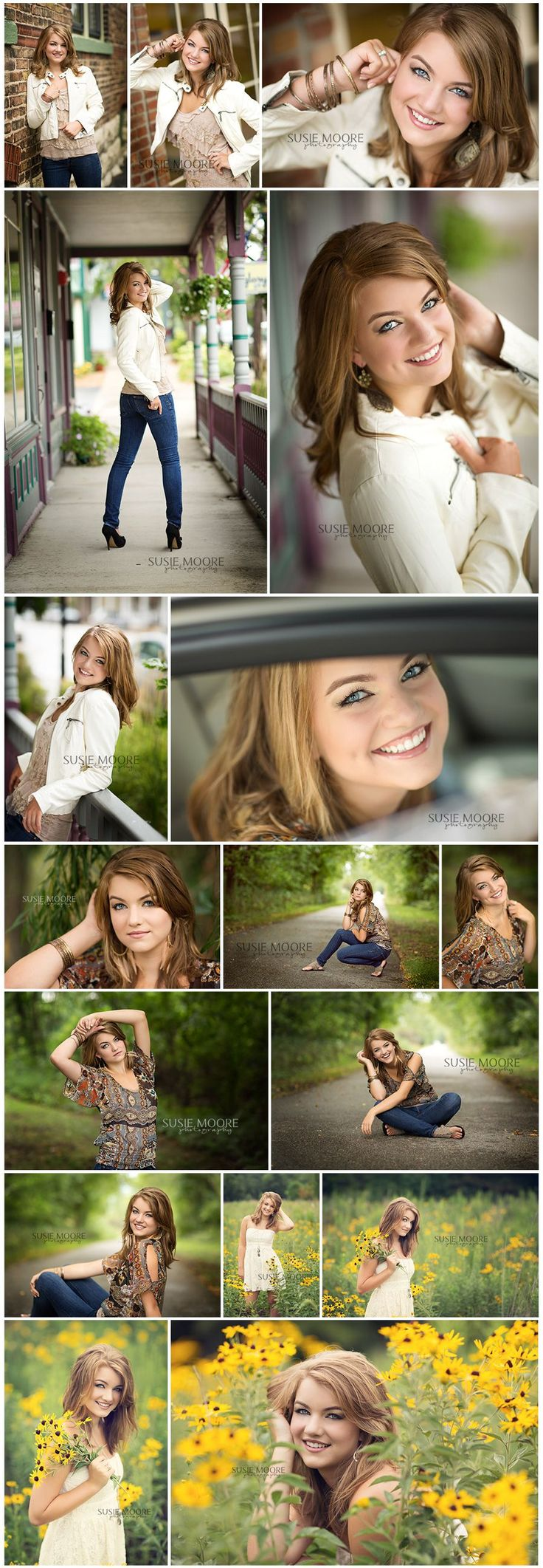 some of these are cute for Senior Posing...love this better than traditional senior photos