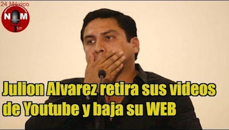 Julion Alvarez retira sus videos de Youtube y baja su WEB 🔴| Noticias al Momento noticias en vivo