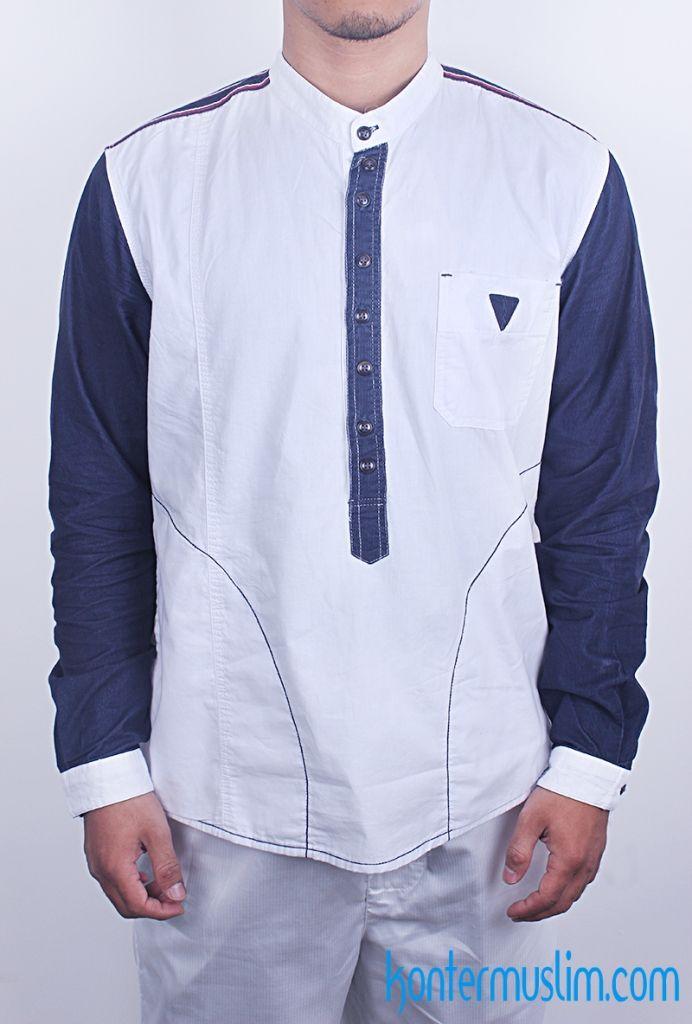 SAMASE Clothes – Baju Muslim Pria  Model Baju Muslim Modern Koko Lengan Panjang…