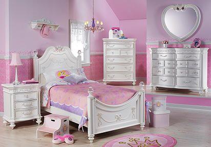 a beautiful girls room