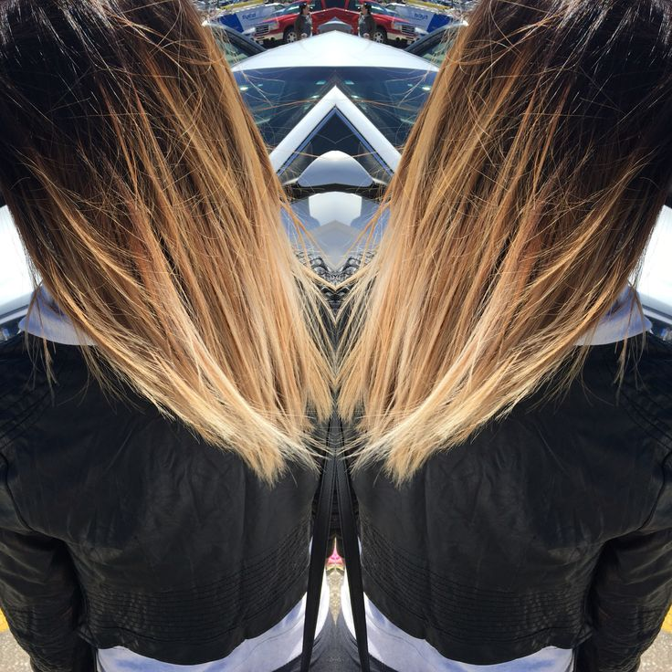 Black To Blonde Ombr 233 Hair By Eleni Pinterest