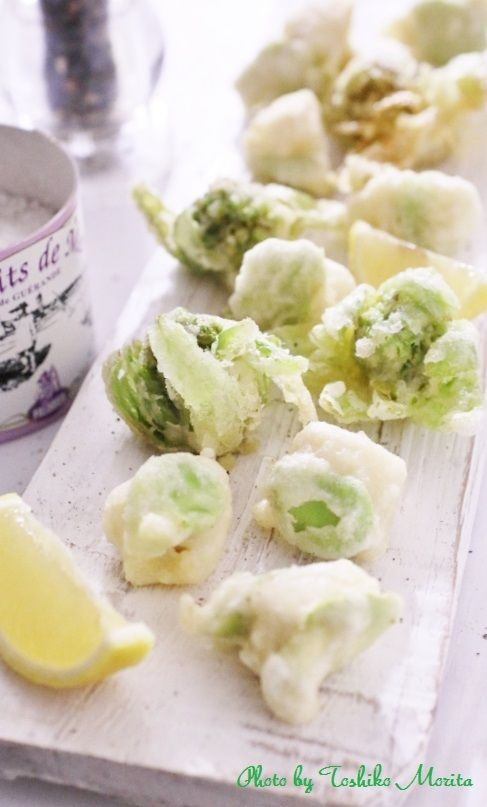 frit 山菜 ふきのとう たけのこのフリット 簡単!おしゃれな盛り付けのコツ