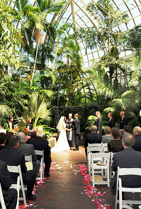 Franklin Park Conservatory was named one of the Best Wedding Venues In The U.S. 2015 by Brides Magazine!