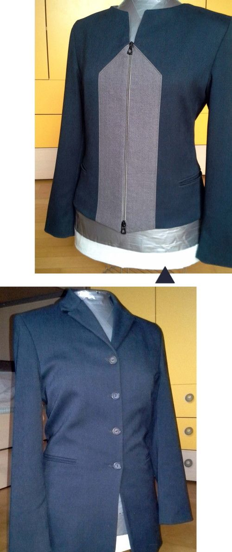 women's jacket refashion