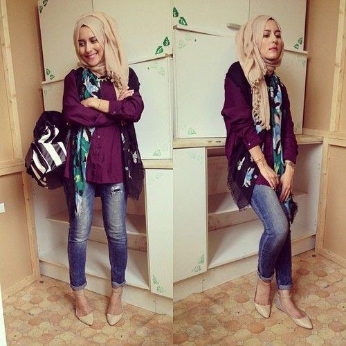 #hijab #beige