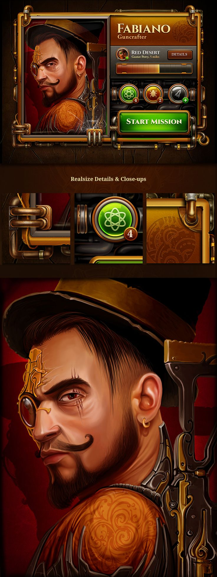 We are continue working on our steampunk project. So we would like to devote it to all steampunk lovers :)