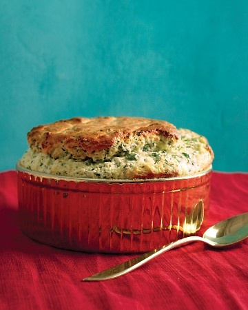 Vegetarian Souffle: Spinach and GruyereSide Dishes, Maine Dishes, Dinner Parties, Main Dishes, Dinner Ideas, Vegetarian Recipe, Martha Stewart, Gruyere Souffle, Maine Cours