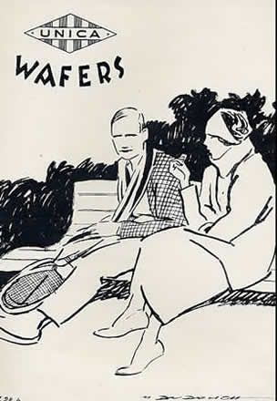 Unica wafers 1928