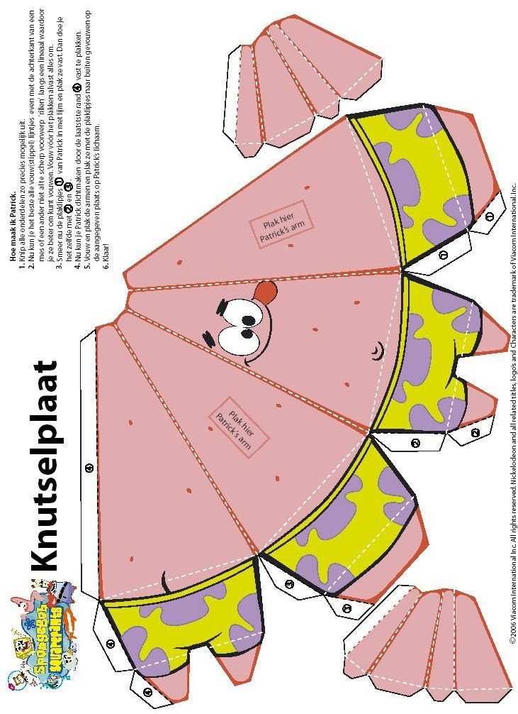 El desastre de María: Papercraft y cubeecraft de Bob Esponja / Spongebob y sus amigos