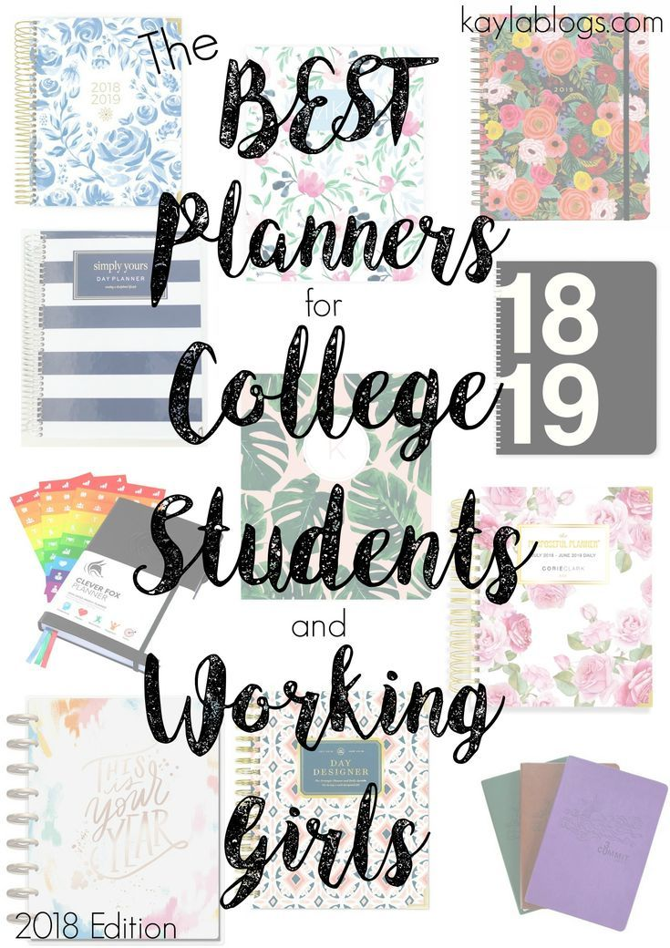 The Best Planners for College Students and Working Girls Student