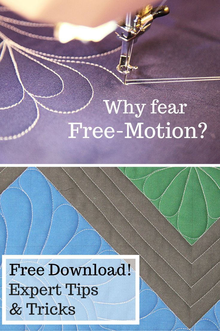 Give your beautiful quilts the free-motion finish they deserve! This free, downloadable guide features 14 pages packed with foolproof tricks and expert tips to help you achieve beautiful free-motion results.