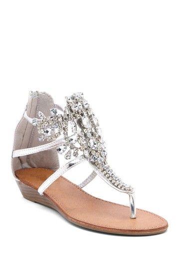 Bucco Destiny Rhinestone Sandal on HauteLook