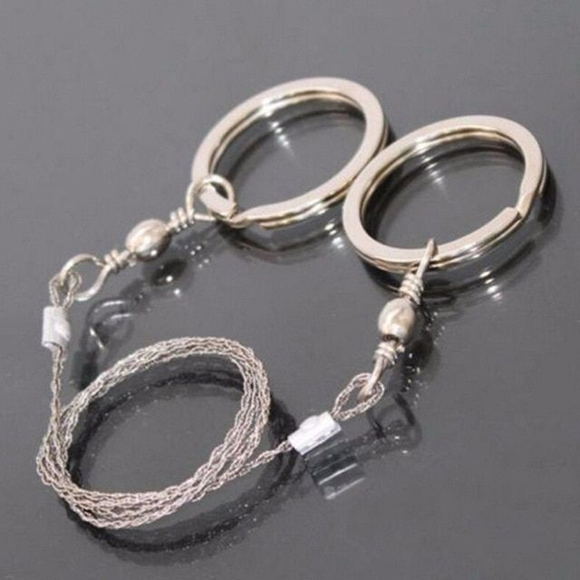 Wire Gear Saw Chain Outdoor Camping Emergency Survival Hand Tool Portable IT