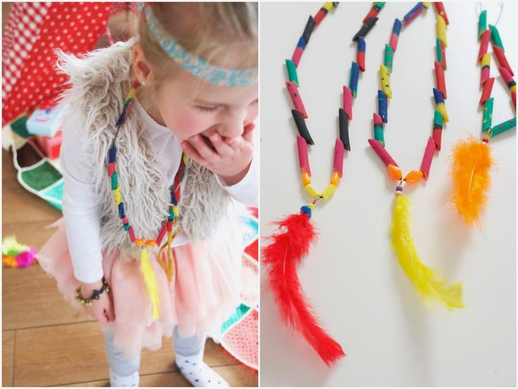 Indianenketting DIY | Wimke