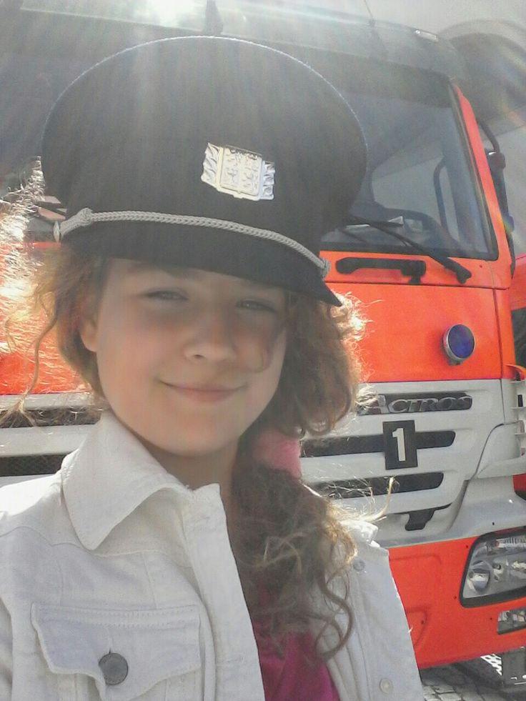Jako hasička...