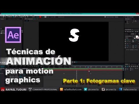 Tutorial After Effects // Técnicas de animación para Motion Graphics Parte 1 - YouTube