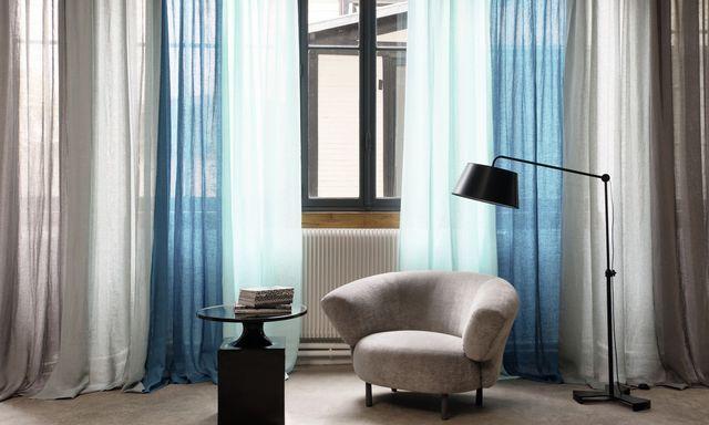 les 25 meilleures id es de la cat gorie rideau pour baie vitr e sur pinterest baie vitr e. Black Bedroom Furniture Sets. Home Design Ideas