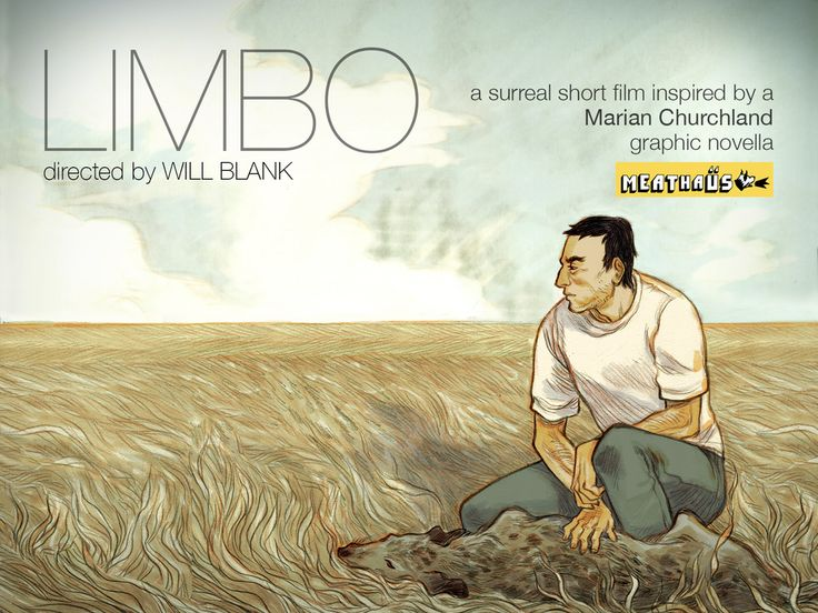 """LIMBO"": A surreal short film about a man, a dog, and a wish.  Based on a MEATHAÜS graphic novella created by Marian Churchland and featuring all practical special effects."