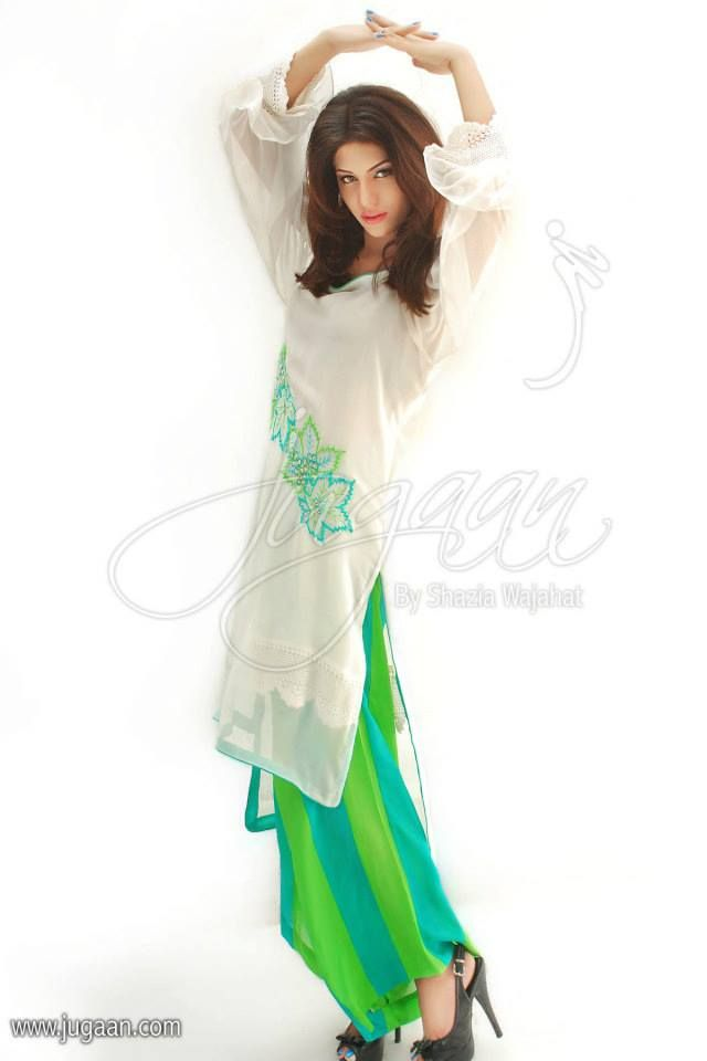 Jugaan by Shazia Wajahat 2013  Couture