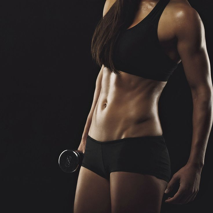 Instantly Feel the Burn With This 4-Minute Arm and Ab Workout - Kick your ab workout up a notch by adding weights, and you'll work your upper body at the same time. These four moves will effectively give you that burn that lets you know you worked it!