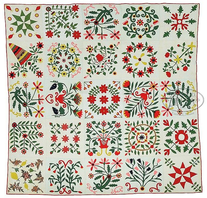 1000 Images About Antique Baltimore Album Style Quilts On