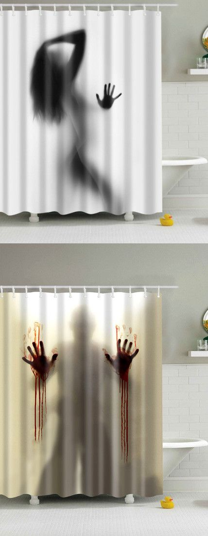 Waterproof Bath Decor Shower Curtain