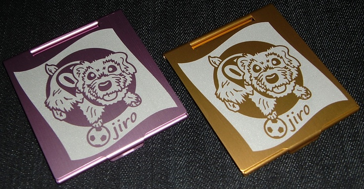 Lovely Dog (pink gold)