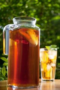 Cinnamon Iced Tea, Iced Ginger Green Tea, Grapefruit Mate Tea & Pear Infused White Tea Recipes