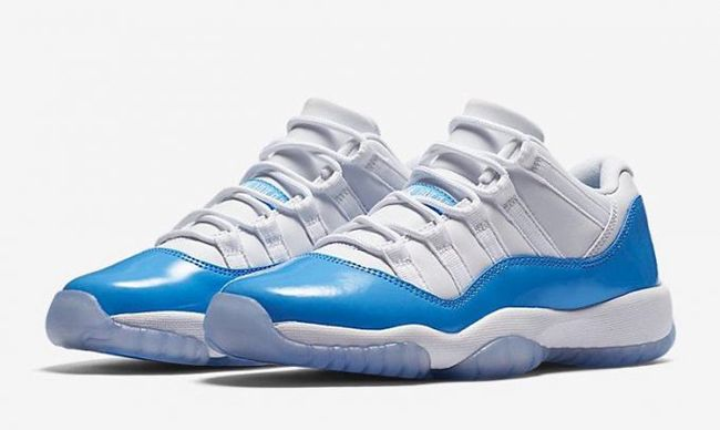 http://SneakersCartel.com Air Jordan 11 Low 'University Blue' Launching in GS Sizes Also #sneakers #shoes #kicks #jordan #lebron #nba #nike #adidas #reebok #airjordan #sneakerhead #fashion #sneakerscartel