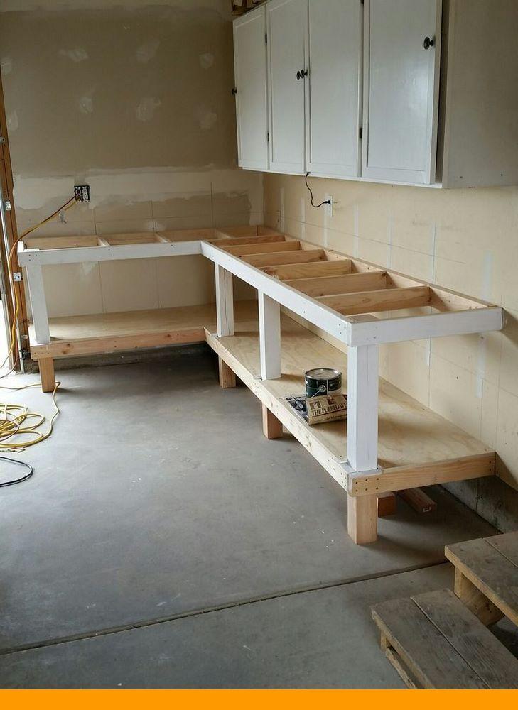 How To Create Your Own Garage Workshop Garage Workbench Plans