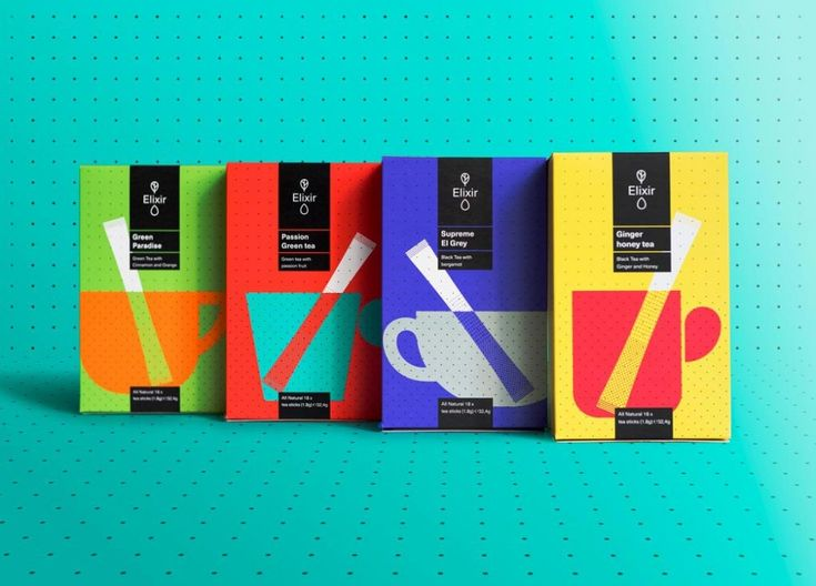 In the packaging design for Athens-based Elixir tea, Typical. Organization translated classic principals from the monumental tea culture in a new, grid-based tea ceremony.