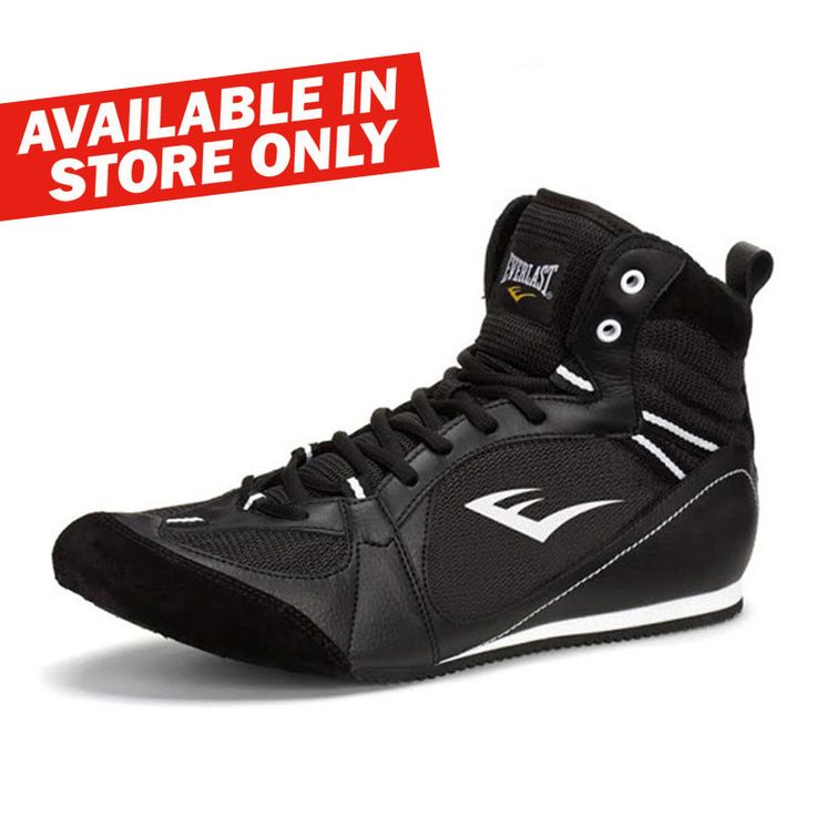 Everlast Low Top Boxing Shoes - Black