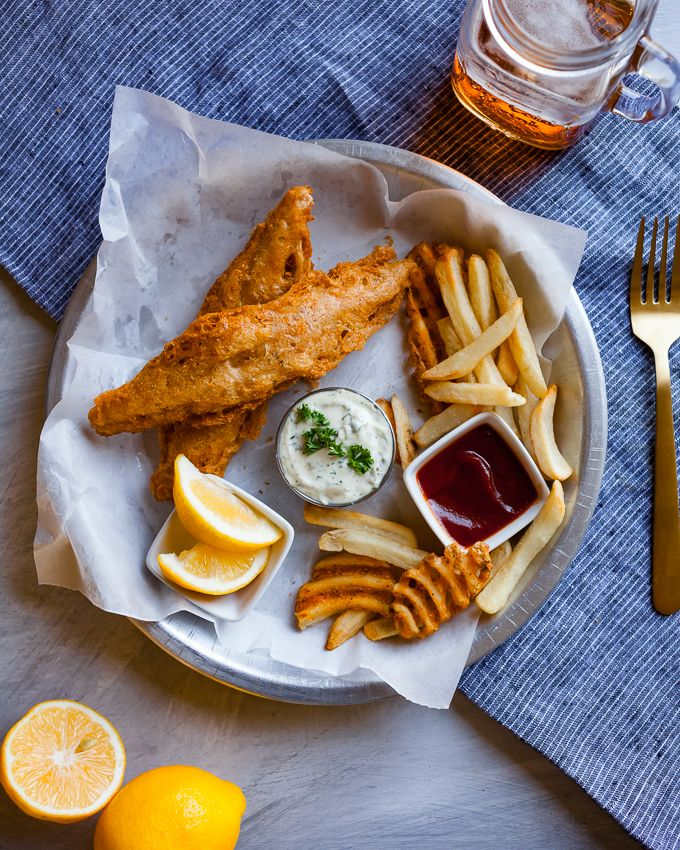 Vegan Fish Chips Carrots Flowers Recipe Vegan Fish Vegan Fish And Chips Fish And Chips