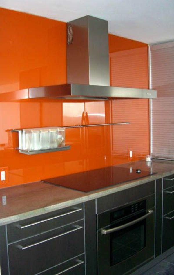 die besten 25+ küchenrückwand aus glas ideen auf pinterest ... - Glas Küchenrückwand Fliesenspiegel
