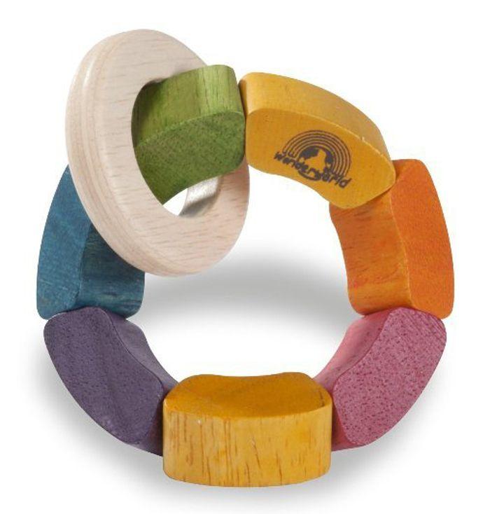 Mudpies - Wonderworld Rainbow Rattle, $16.95 (http://mudpies.com.au/wonderworld-rainbow-rattle/)