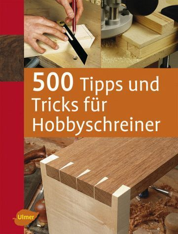 This book shows you the best tips and tricks for hobby carpenters, whether you prefer milling, turning, carving or just want to build beautiful or practical workpieces.