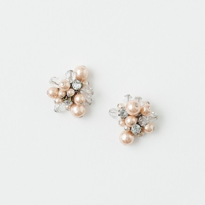 pearl cluster earrings | j.crew factoryJcrew Factories