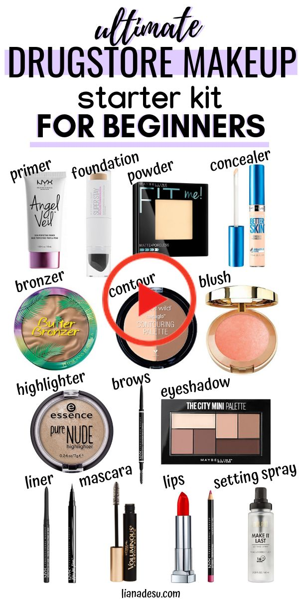 Ultimate Drugstore Makeup Starter Kit for Beginners in