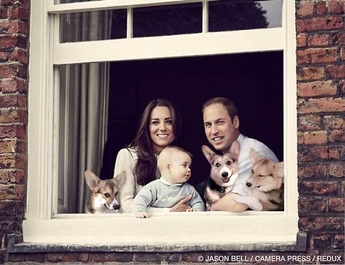 A very Royal and happy family.