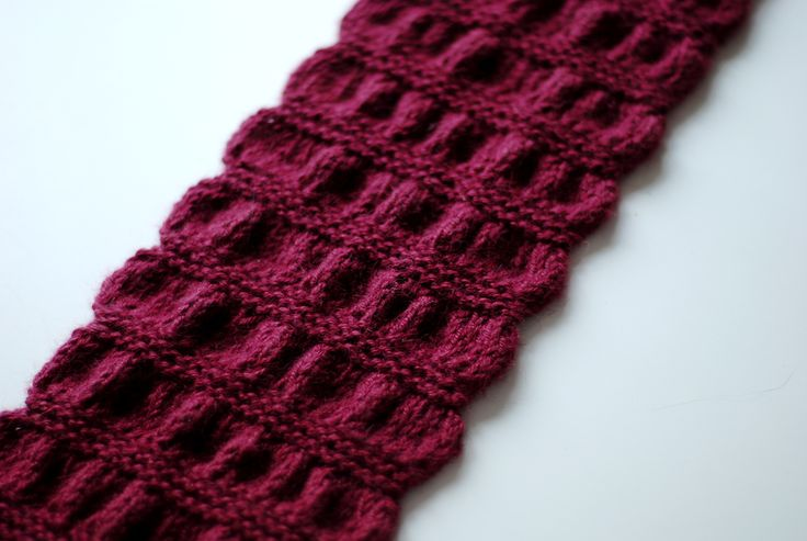 Ravelry: Gathered Scarf by Maryse Roudier