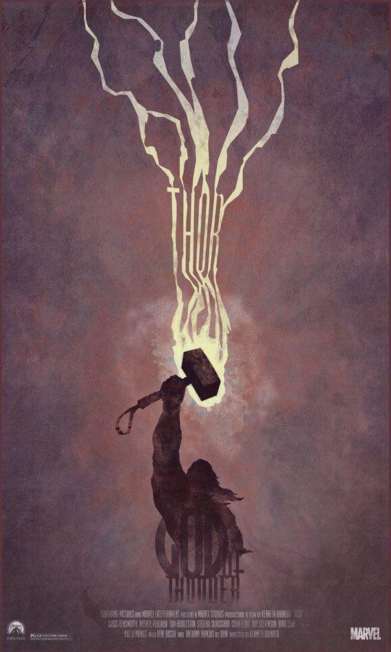 Thor Movie Poster Art by DukeDastardly -
