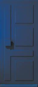 Hardhouten voordeur van Albo met gesloten panelen voor een groter gevoel van privacy. Beschikbaar van prominent rood tot neutraal crème. Ook geïnteresseerd in deze deur + montage en complete ontzorging neem dan een kijkje op www.simonmaree.nl !